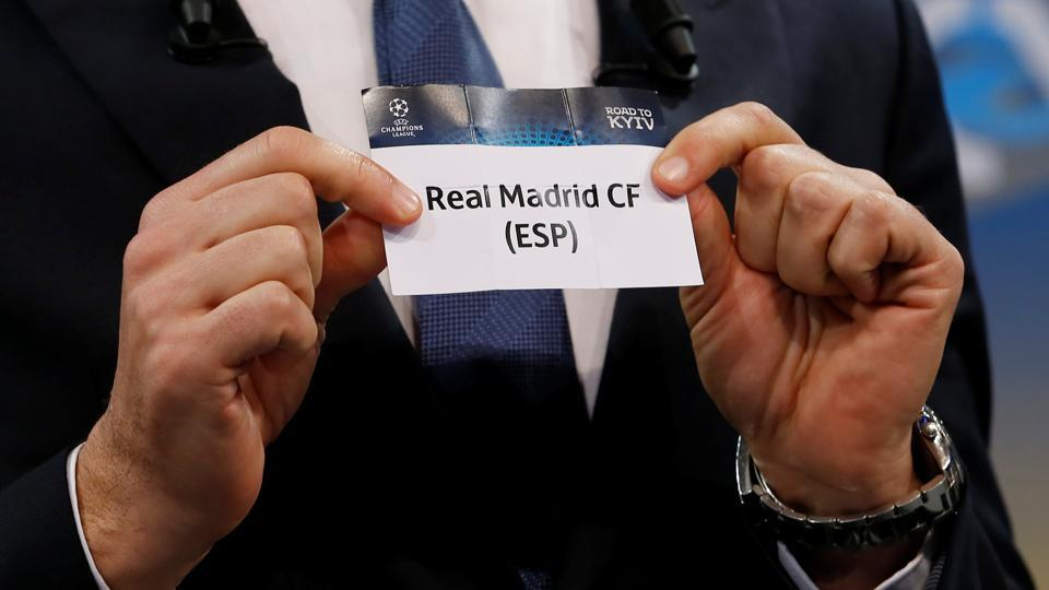 Real Madrid will face Juventus in the UEFAChampions League quarterfinals.