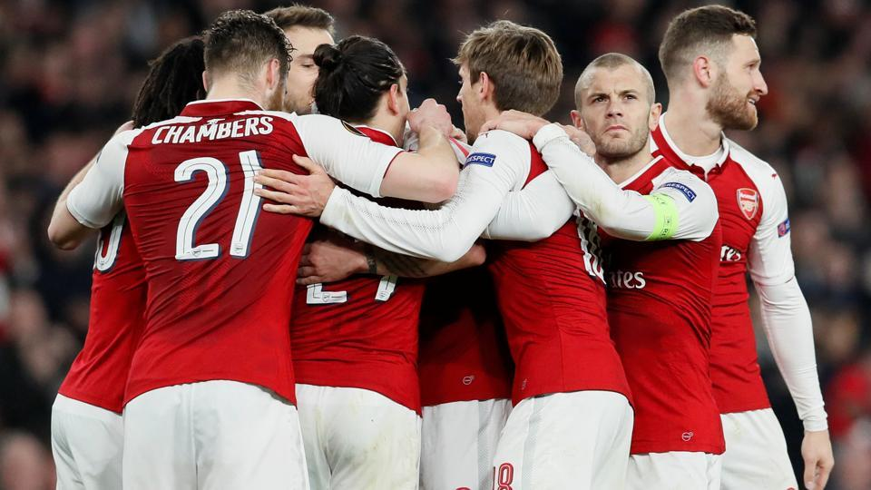 Arsenal to face Russian side CSKA Moscow in Europa League