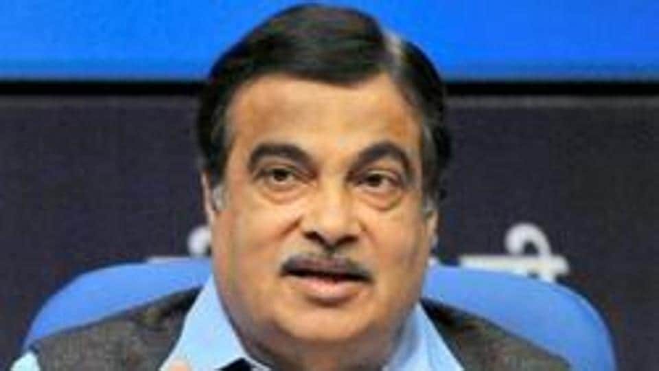 File photo of Union road transport and highways minister Nitin Gadkari.