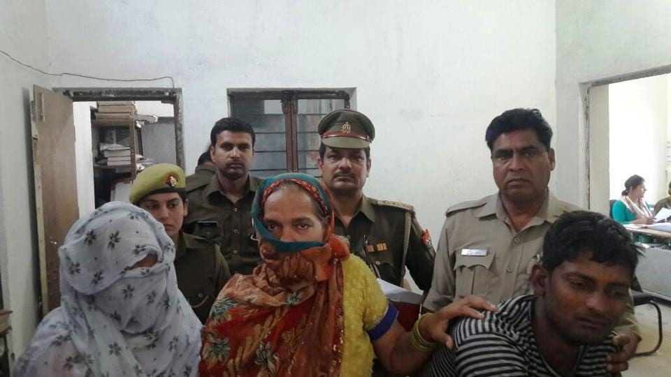 The police on Friday arrested Sunil and his mother Neelam, who operated a grocery shop from their house on Gali number 9 in Shankar Vihar locality.