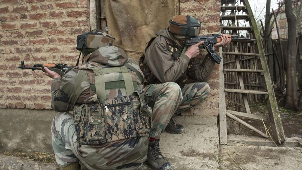 Kashmir,Srinagar,Militants encounter