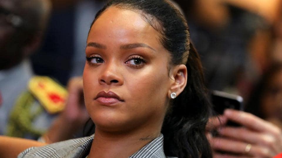 Rihanna denounced Snapchat on its rival platform, Instagram.