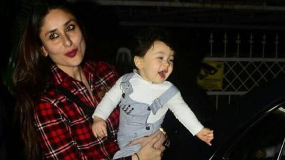 Taimur Ali Khan is often photographed and looks like, he has begun to enjoy the attention.
