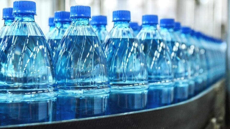 Customers that buy plastic bottles of water will be charged a Re1 recycling fee, which will be refunded if the bottle is returned to the shopkeeper.
