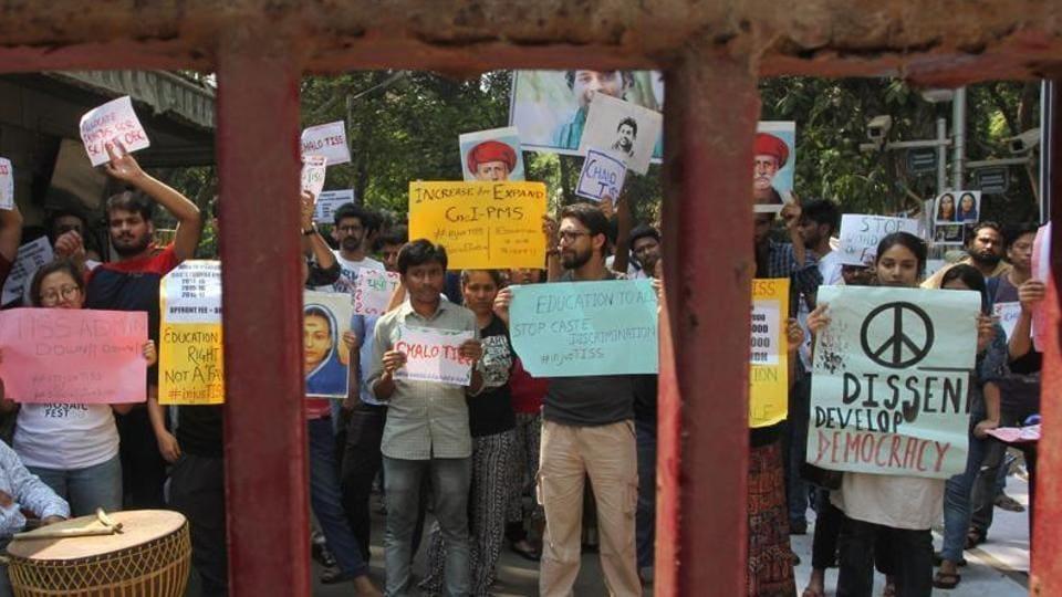Mumbai news,TISS,TISS protest