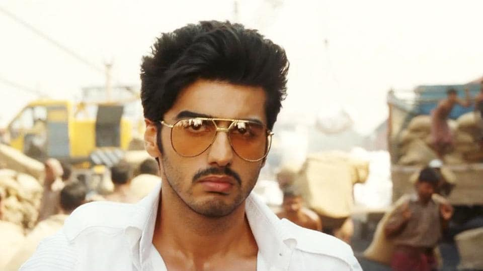 Arjun Kapoor, seen here, from a shot in Gunday (2014) and is gearing up for his next, Panipat.