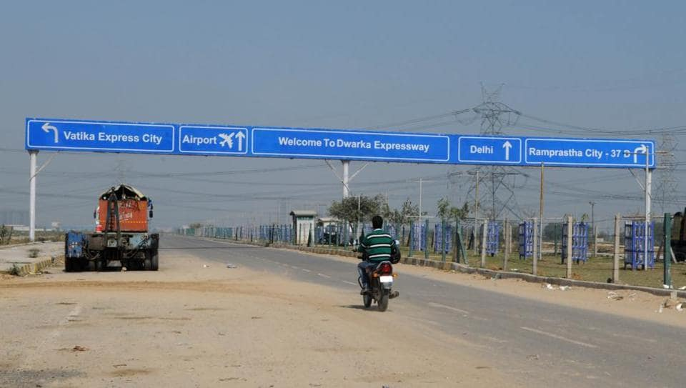 Currently, a litigation over land in New Palam Vihar is holding up the completion  of the expressway.