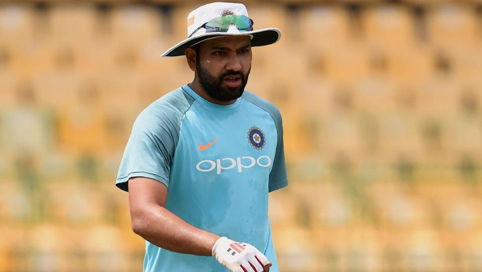 Indian cricket captain Rohit Sharma was Man of the Match in their final league game against Bangladesh. He scored a brilliant 89. (AFP)