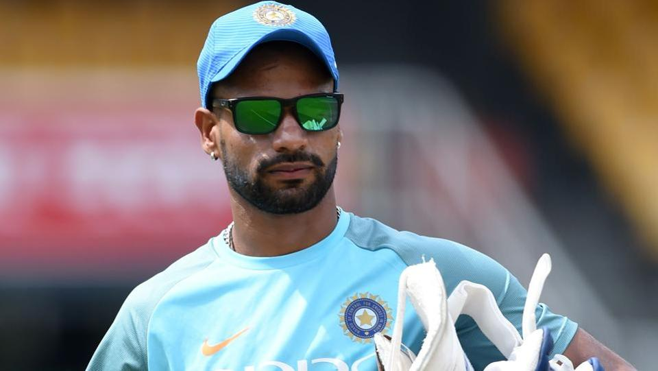 Left-handed Shikhar Dhawan is the third highest, and highest Indian, run-scorer of the Nidahas Trophy with 188 runs. (AFP)