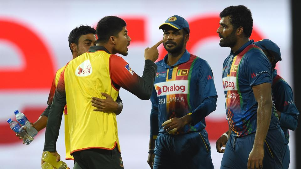 Nurul Hasan along with Shakib was fined 25 percent off his match fees for the debate. (HT Media)