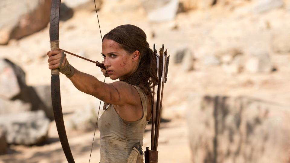 The new Lara Croft movie failed to do much at the box office.