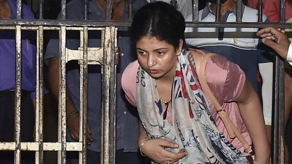 Hasin Jahan, wife of Indian cricketer Mohammed Shami, in Kolkata. BCCI's Anti-Corruption Unit officers spoke to Hasin on Saturday.