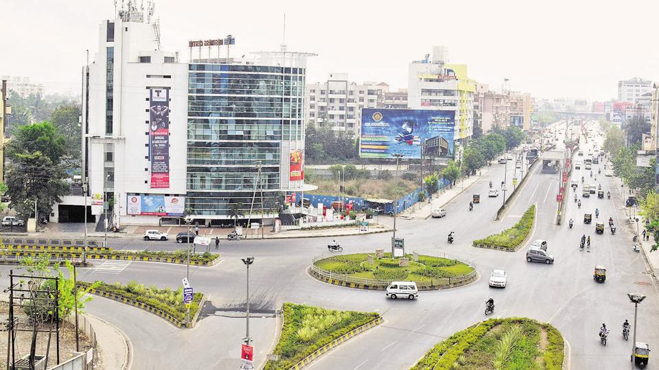 A view of Pimple Saudagar in Pune.
