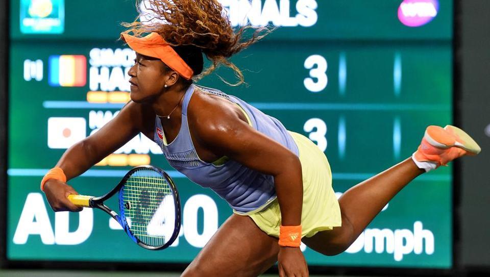 Osaka overwhelms Halep, Kasatkina beats Venus in Indian Wells semis