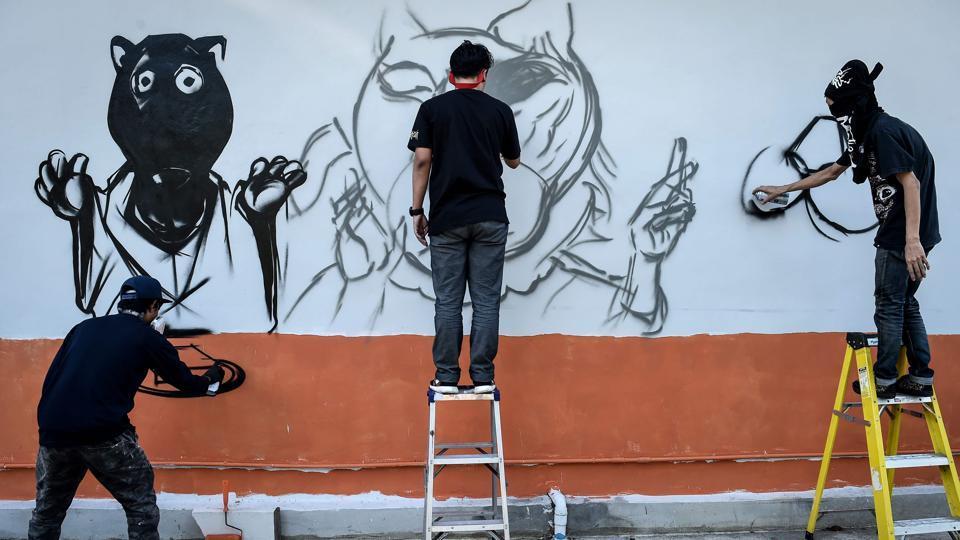 Thai graffiti,Artist,Art
