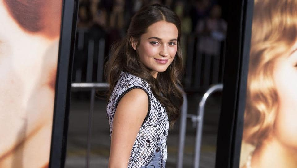Alicia Vikander replaced Angelina Jolie as Lara Croft in the new film.