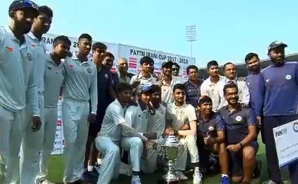 Vidarbha clinch maiden Irani Cup title courtesy first innings lead