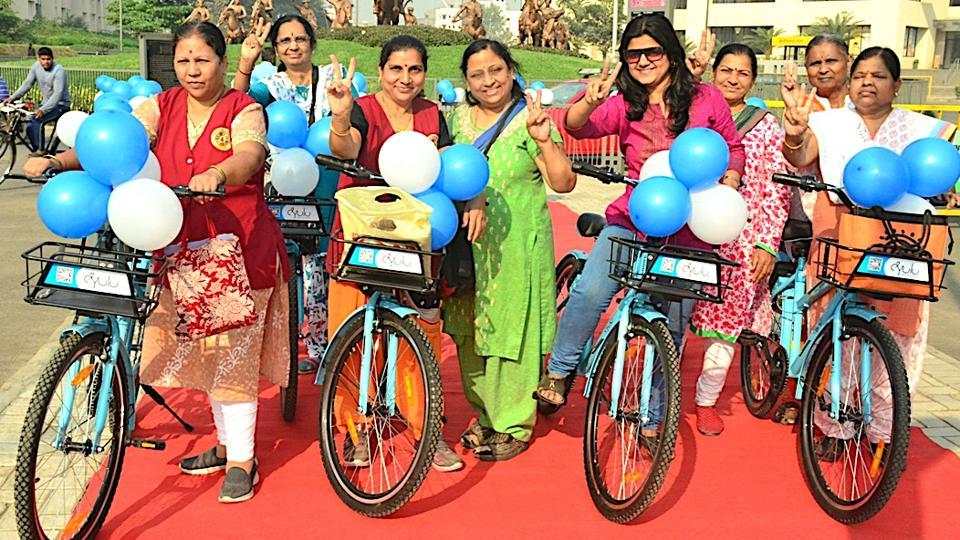 Pune,Nanded city,bicycle sharing plan
