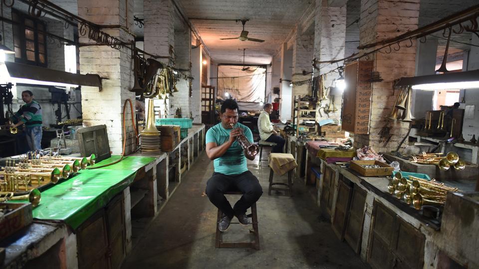 Meerut,nadir Ali & Co,wind instruments