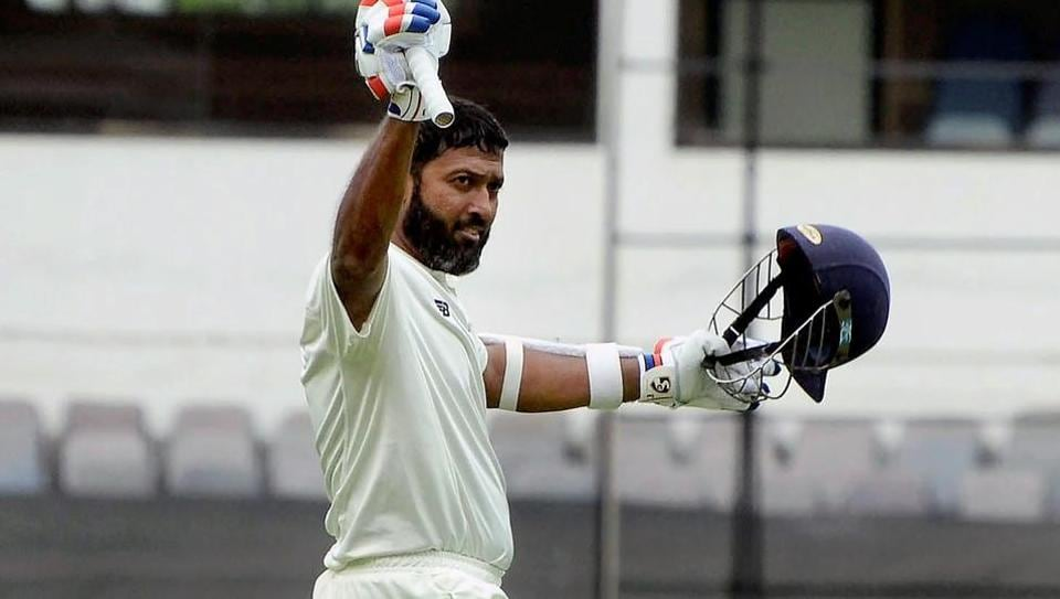 Wasim Jaffer scored 286 in the Irani Cup final for Vidarbha cricket team against Rest of India.