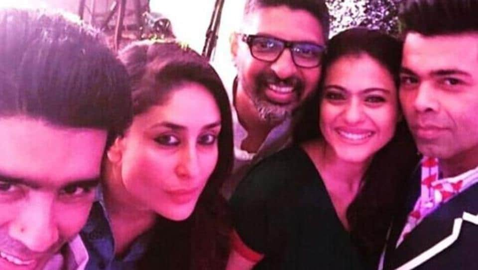 Kajol and Karan Johar Reunite at Hiroo Johar's Birthday
