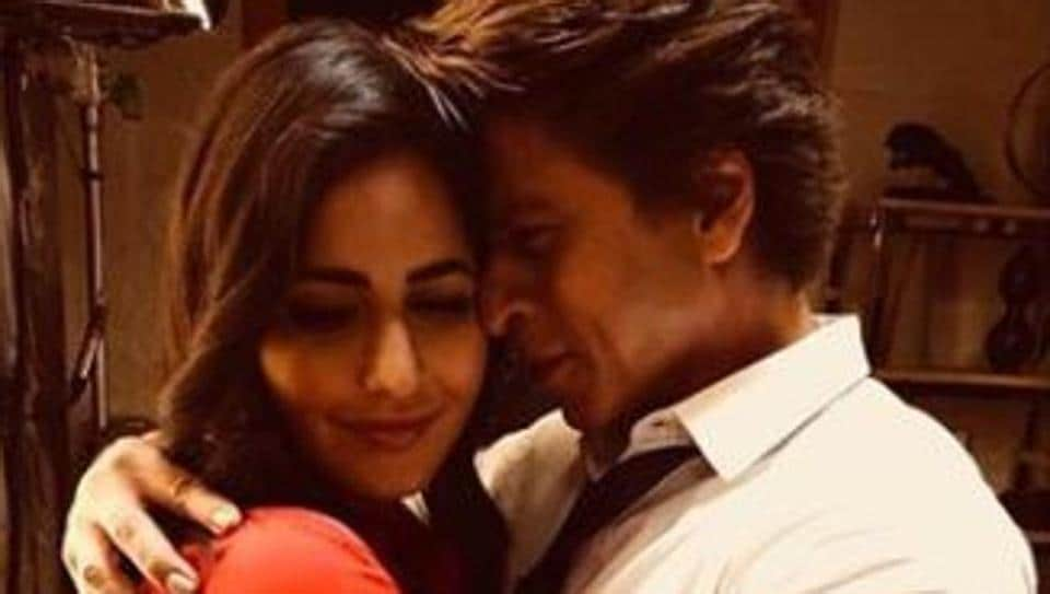 Shah Rukh professed his love for Katrina Kaif in true Darr style and this happened next.
