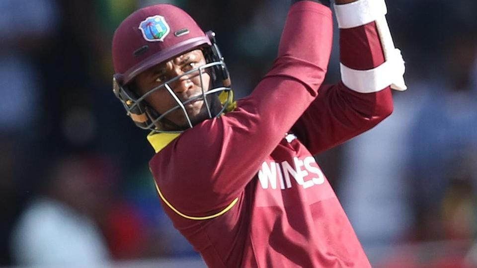 Marlon Samuels scored a brilliant fifty as West Indies defeated Zimbabwe in the ICCWorld Cup qualifier onMonday.