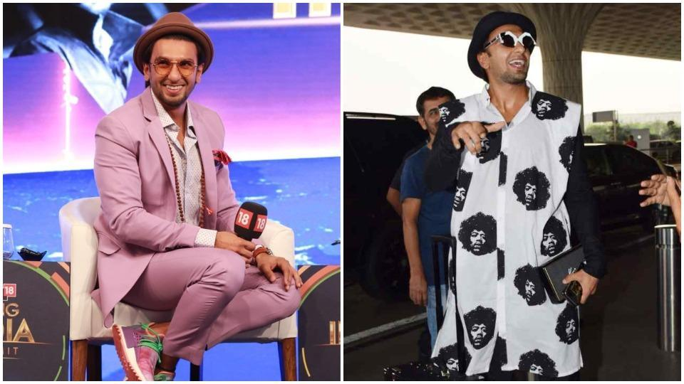 On Saturday, actor Ranveer Singh's personal brand of outrageous menswear hit its craziest stride yet.