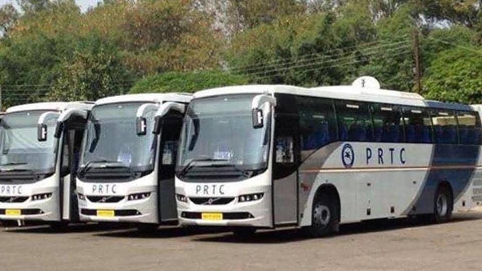 Pepsu Road Transport Corporation,PRTC,Mukh Mantri Vigyan Yatra