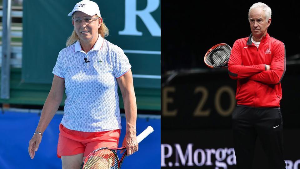 Martina Navratilova,John McEnroe,Wimbledon