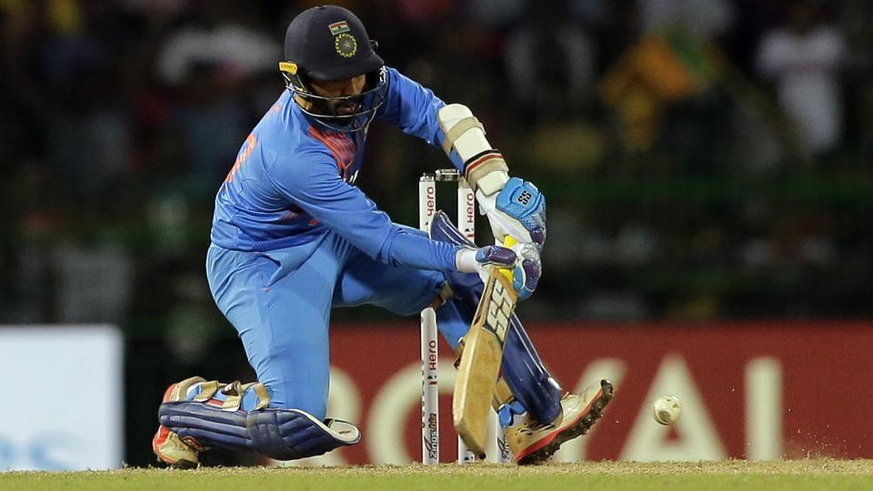 Dinesh Karthik struck a last-ball six to hand India a memorable win in the Nidahas Trophy final vs Bangladesh in Colombo on Sunday.