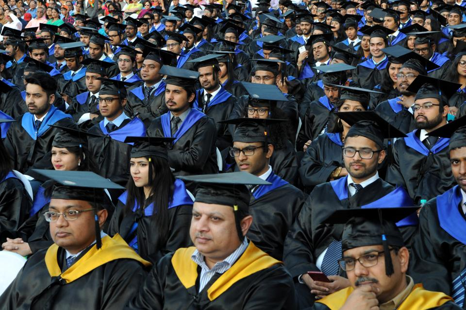 IIM Lucknow's  32nd convocation at IIM campus in Lucknow on Saturday.