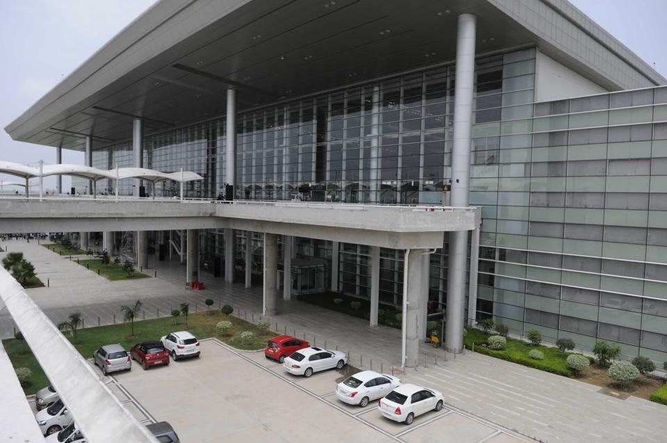A view of Chandigarh international airport