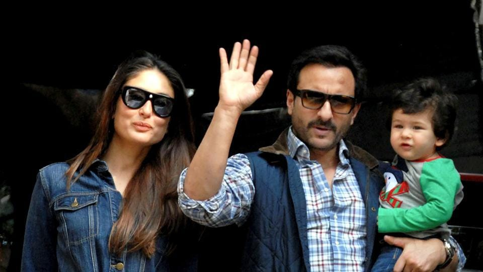 Kareena, Saif, Soha, Kunal like a day out with newborns Taimur and Inaaya. See pics