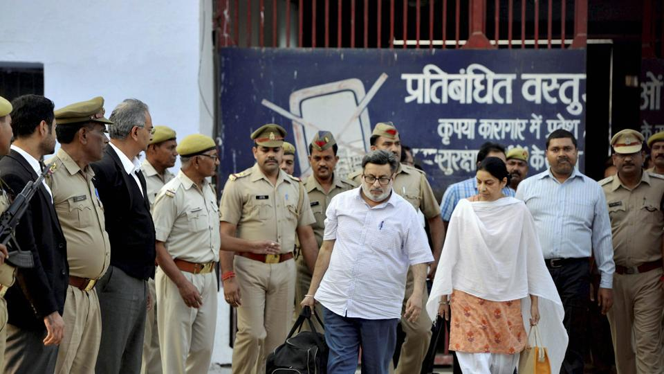 The Supreme Court on Monday admitted an appeal filed by Khumkala Banjade, the wife of Hemraj, against the acquittal of Rajesh and Nupur Talwar in the 2008 twin murder case of their daughter Aarushi and domestic help Hemraj. (PTI File)