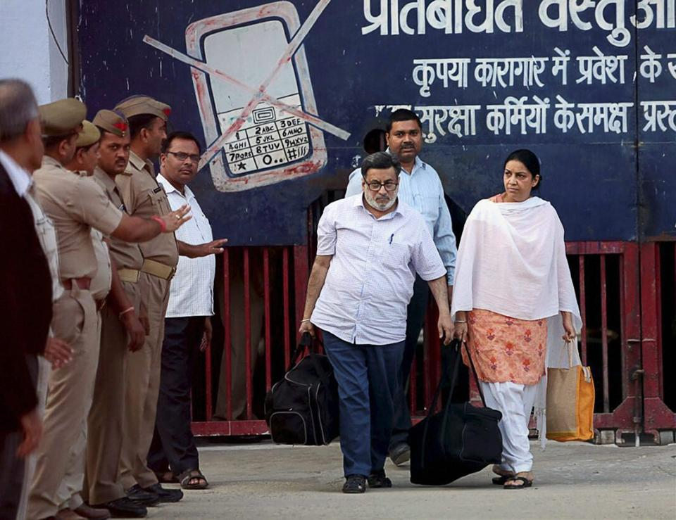 SC Notice To Talwar Couple In Aarushi Murder Case