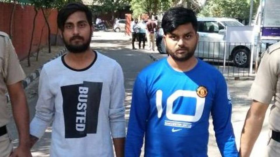 BUSTED: Sehgal brothers — Shubham, 27, and Naman, 24.