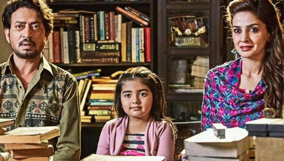 A still from the film Hindi Medium, which was  a major commercial and critical success in 2017.