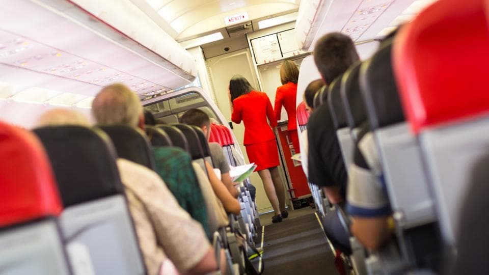 The survey concluded that on flights lasting three-and-a-half to five hours, passengers sitting one row in front, or one row behind, a person with flu, had an 80% risk of catching the bug.