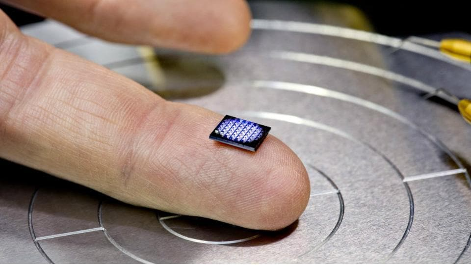 IBM smallest computer  is smaller than a grain of salt.