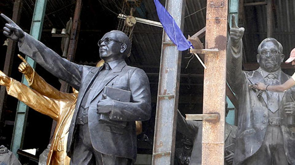 As per the contract, they will construct a 350-feet bronze statue of Ambedkar.