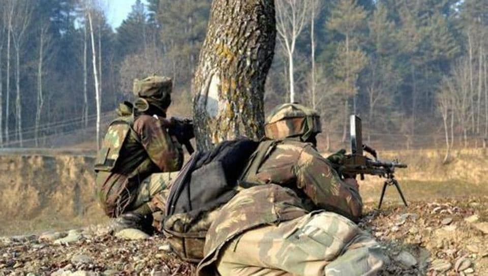 Forces did not give information about the number of militants trapped in Kupwara.