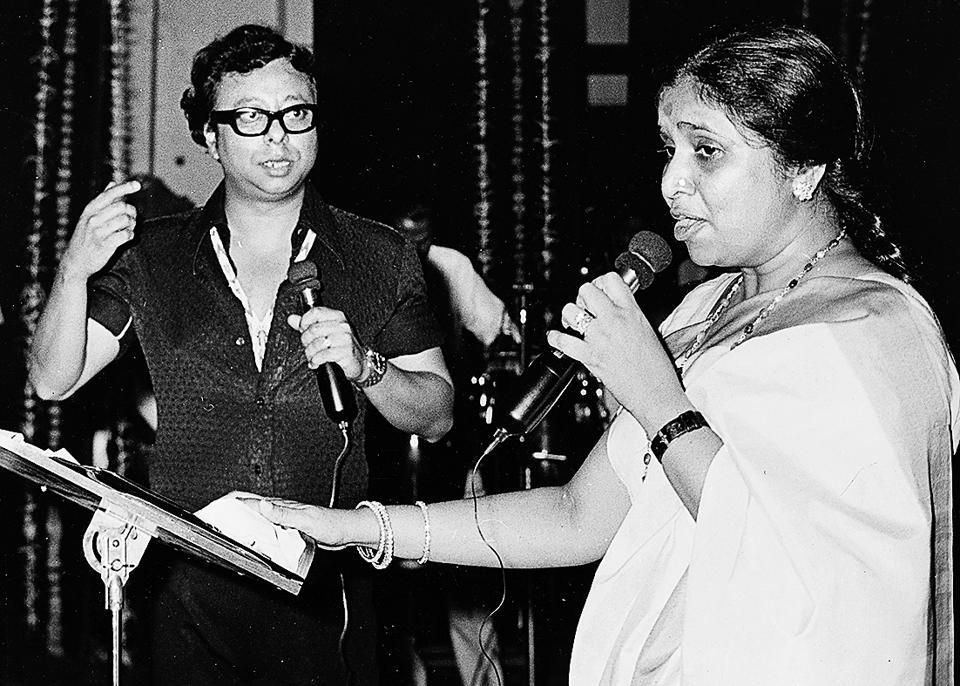 Asha Bhosle and R.D. Burman