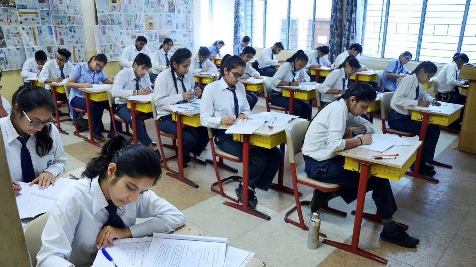 Students appearing for the paper in the state board examination got a rude shock when they received the questions on Whatsapp on their mobile phones.