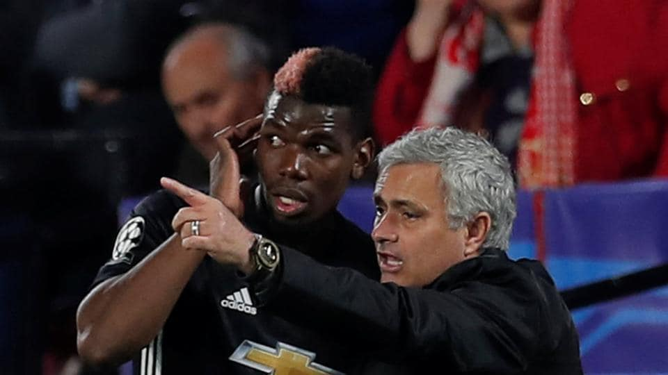 Paul Pogba has found himself out of favour with Manchester United manager Jose Mourinho in recent weeks.