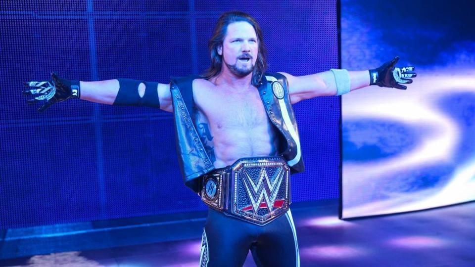 AJStyles,Shinsuke Nakamura,WrestleMania 34