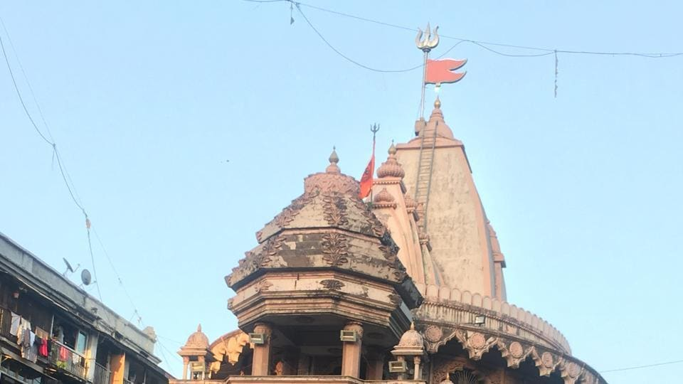 The Gol Deval temple in Bhuleshwar, which is revered by veershaivas, a Lingayat sub-sect.