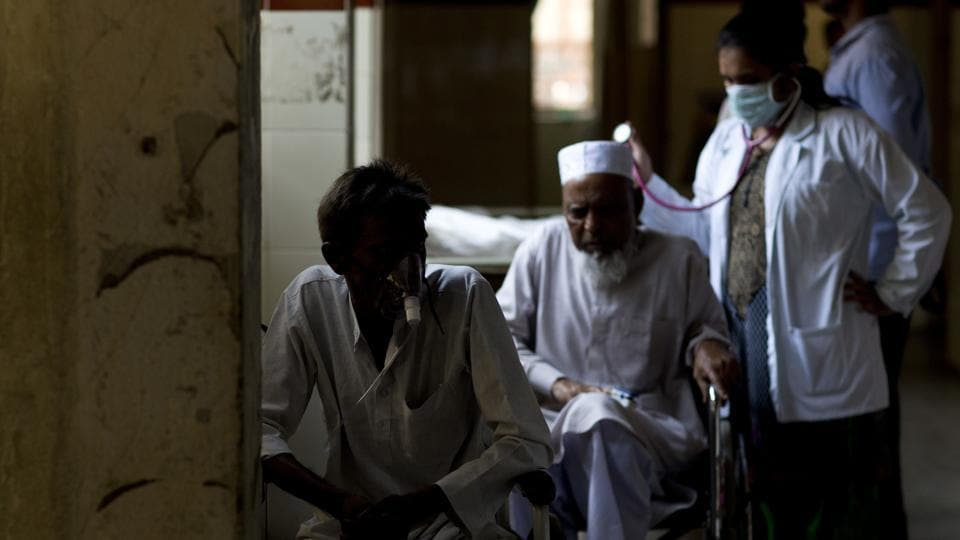 Doctors, health workers and pharmacists could be jailed for up to two years for failing to report cases of tuberculosis, a health ministry notification has said, a few days after Prime Minister Narendra Modi announced that India would eliminate the disease by 2025. (Mahesh Kumar A / AP)