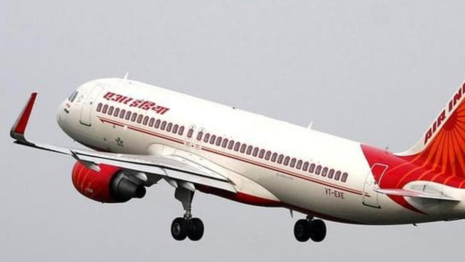 A file photo of an Air India aircraft taking off from the Sardar Vallabhbhai Patel International Airport in Ahmedabad.