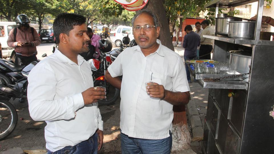 Deepak Gupta (left) and Mahinder Chaturvedi